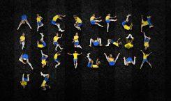 Quedas de Neymar viram até alfabeto criado por designer gráfico