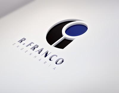 Logomarca R. Franco Engenharia by Logotipe