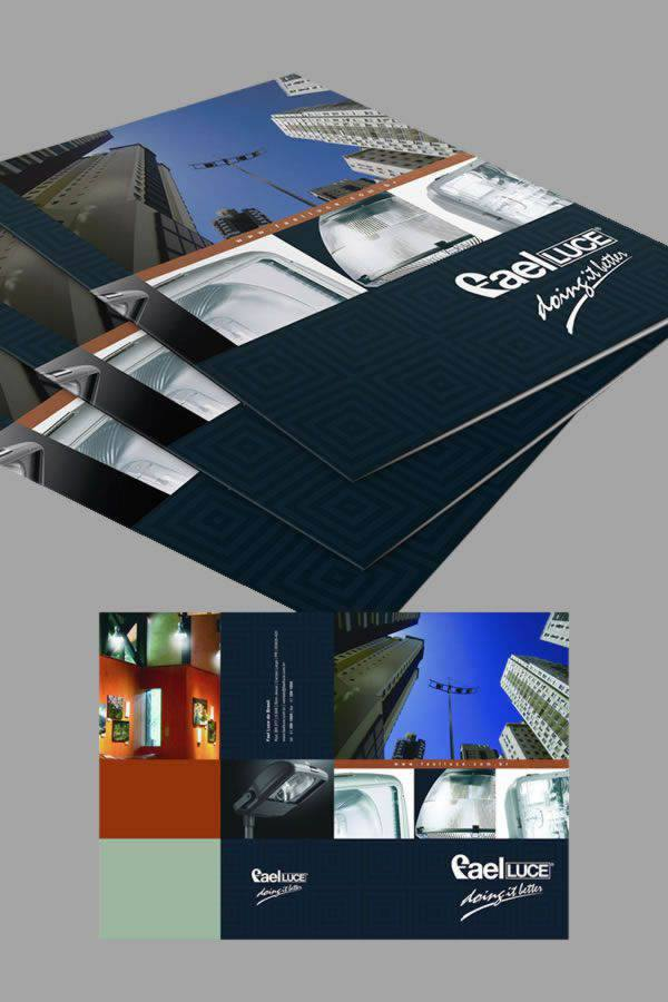 Folder Fael Luce do Brasil by Logotipe