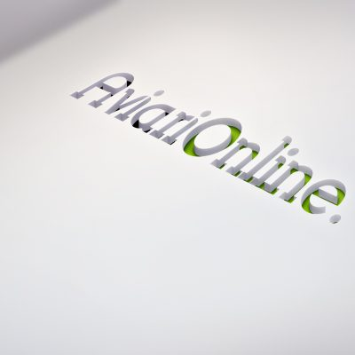 Logomarca Aviário OnLine by Logotipe
