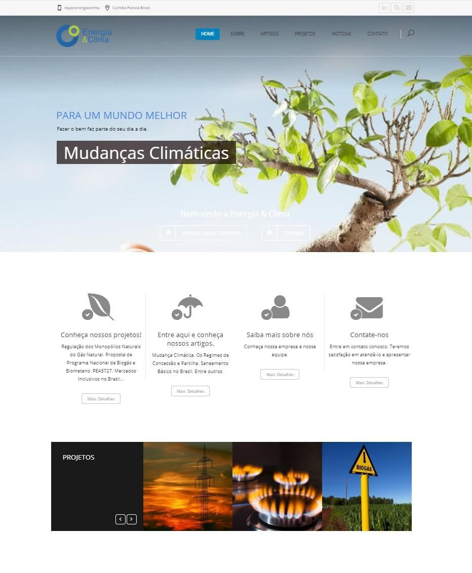 Site Energia & Clima by Logotipe