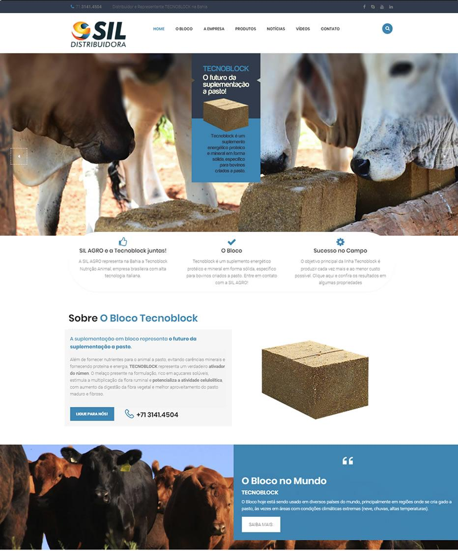 Site Sil Agro by Logotipe