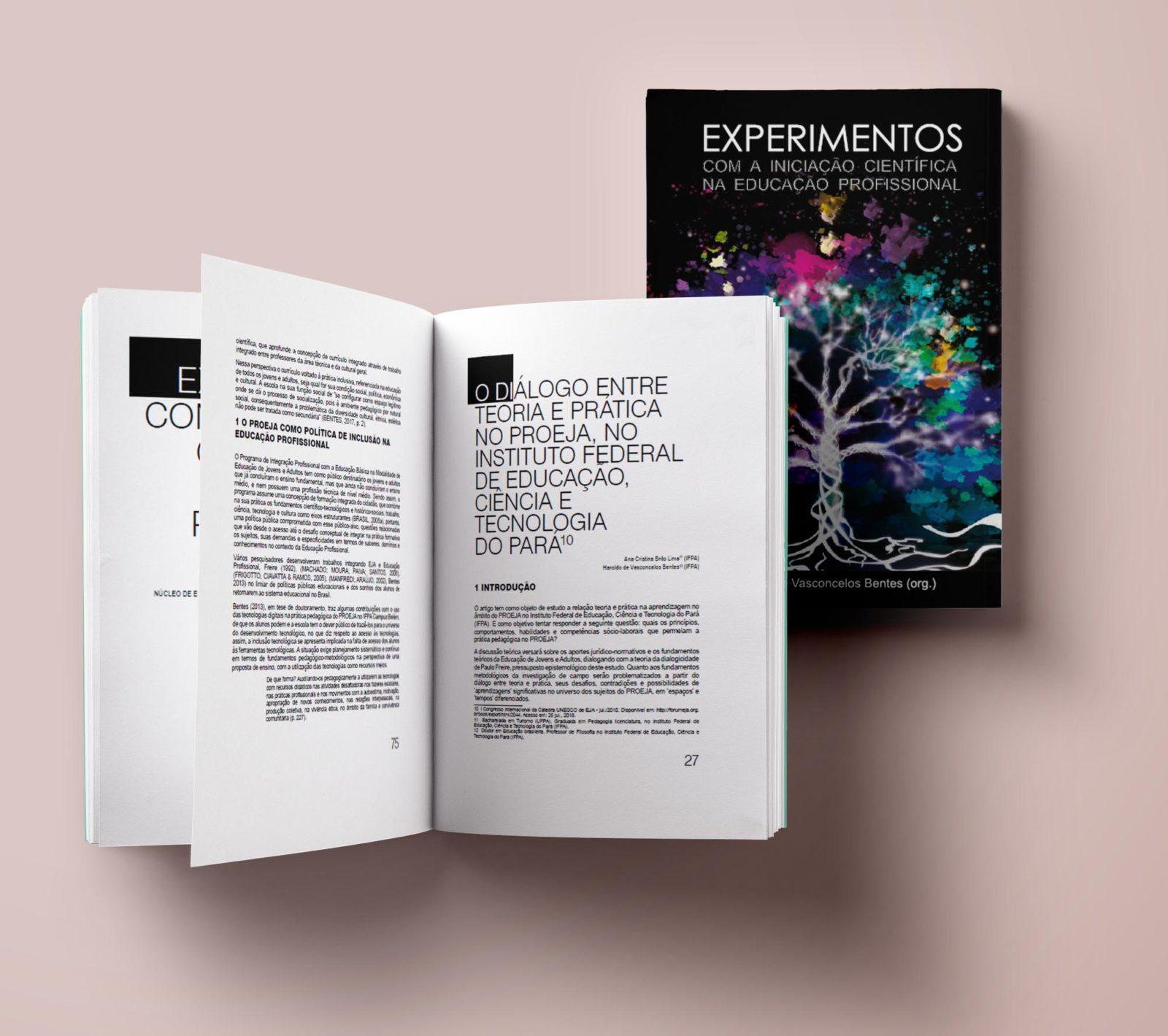 Livro Experimentos by Logotipe