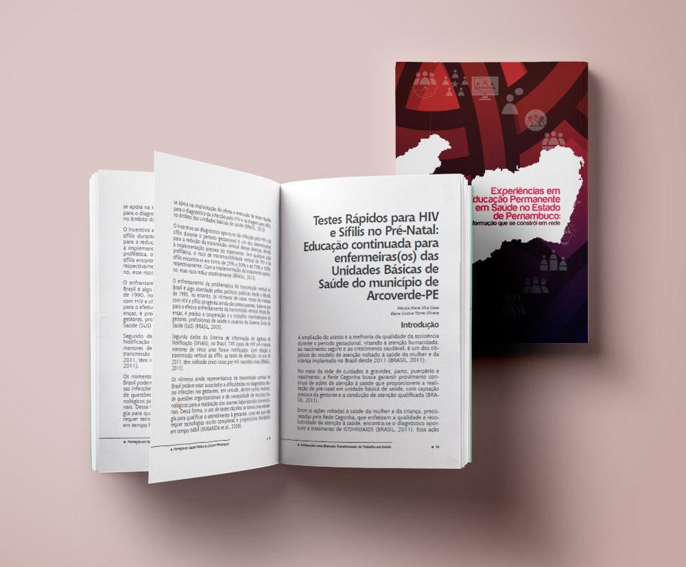 Livros SUS Pernambuco by Logotipe